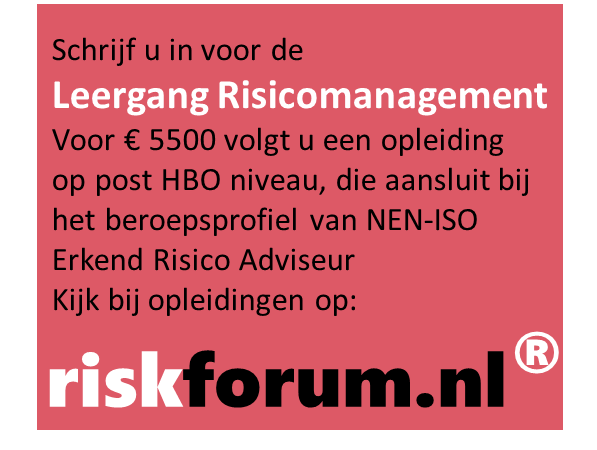 Leergang risicomanagement